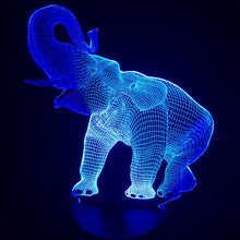 Load image into Gallery viewer, 7 Colors Changing 3D LED  Night Light