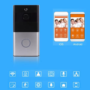 Wireless WiFi Video Doorbell PIR Motion Sensor IP Camera Intercom