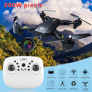 S9 Headless Mode Quadcopter 2.4GHz 4 Axis gyro 2MP 720P HD WIFI camera fixed high folding FPV Drone Aircraft Helicopter