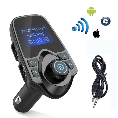 Bluetooth FM Transmitter Car Kit Wireless