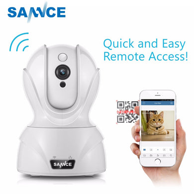 SANNCE 720P WiFi Camera Security IP Camera 1.0MP Wireless WI-FI Audio
