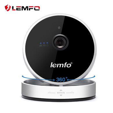 LEMFO Mini Wireless Wifi IP Home Security Camera 720P HD Smart P2P Night Vision Motion Detection