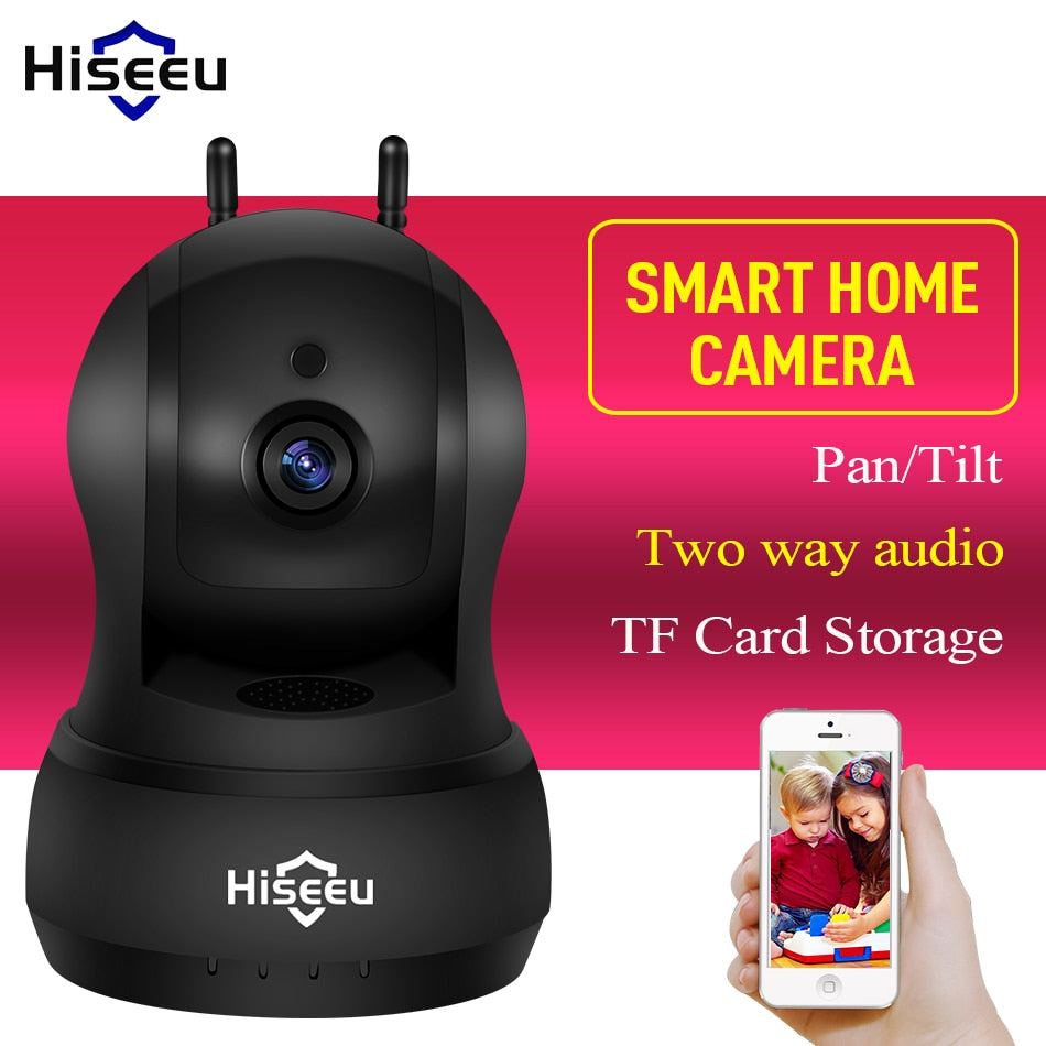 Hiseeu 720P IP Camera Wi-Fi Wireless Network camera audio TF Card CCTV