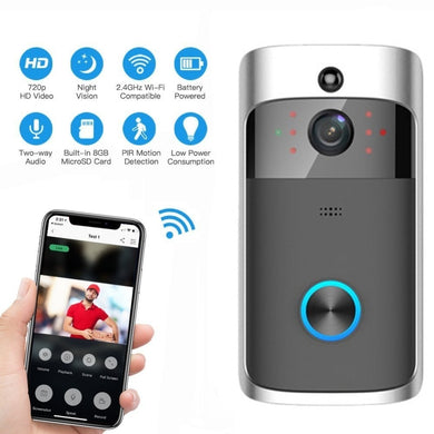 Video DoorBell Battery WIFI Doorbell Camera IP Video Intercom Video Door Phone For Apartments IR Alarm Wireless Security Camera