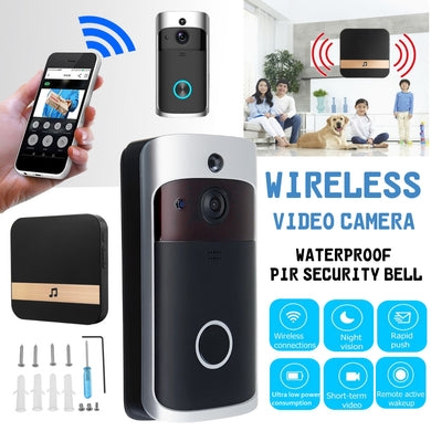 WI-FI Video Door Phone Door Bell WIFI Doorbell Camera Night Vision