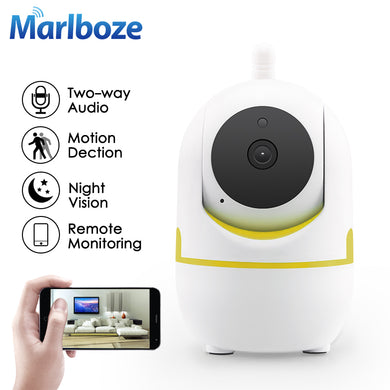 Marlboze 720P HD Wifi IP Camera P2P IR-Cut Night VisionTwo-Way Audio