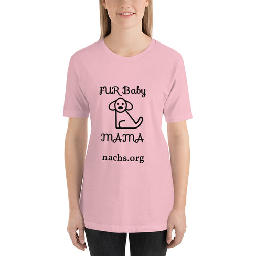 Fur Baby Mama Short-Sleeve T-Shirt - Natchez-Adams County Humane Society - nachs.org