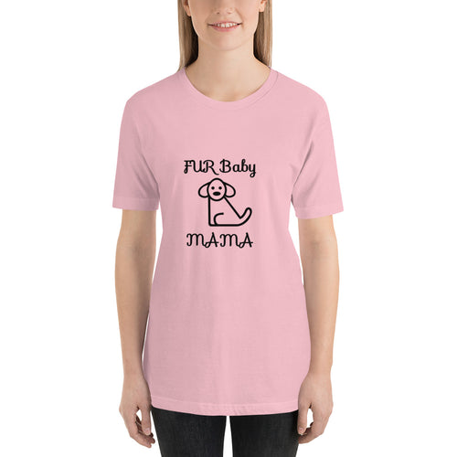 Fur Baby Mama  Short-Sleeve T-Shirt (Non-Logo)