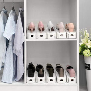 Double Deck Shoe Rack (Space Saving)