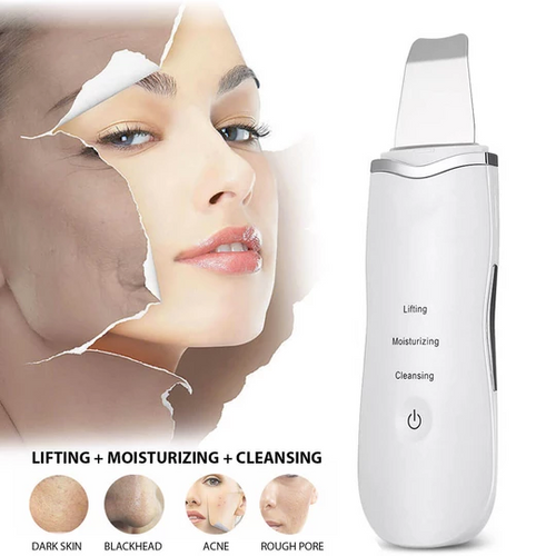 VibraScrub™ Ultrasonic Blackhead Remover & Face Cleanser