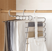 Load image into Gallery viewer, 5-in-1 Multifunctional & Portable Pants Rack