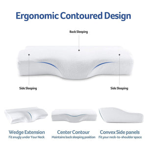 Contoured Orthopedic Cervical Pillow