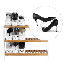 Load image into Gallery viewer, Double Deck Shoe Rack (Space Saving)