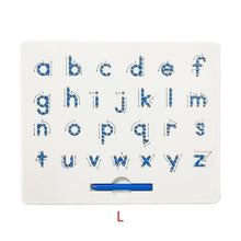 Load image into Gallery viewer, Children Magnetic Alphabet Learner and Writing Board