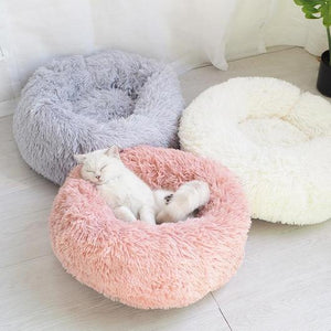 Marshmallow Plush Cat Bed