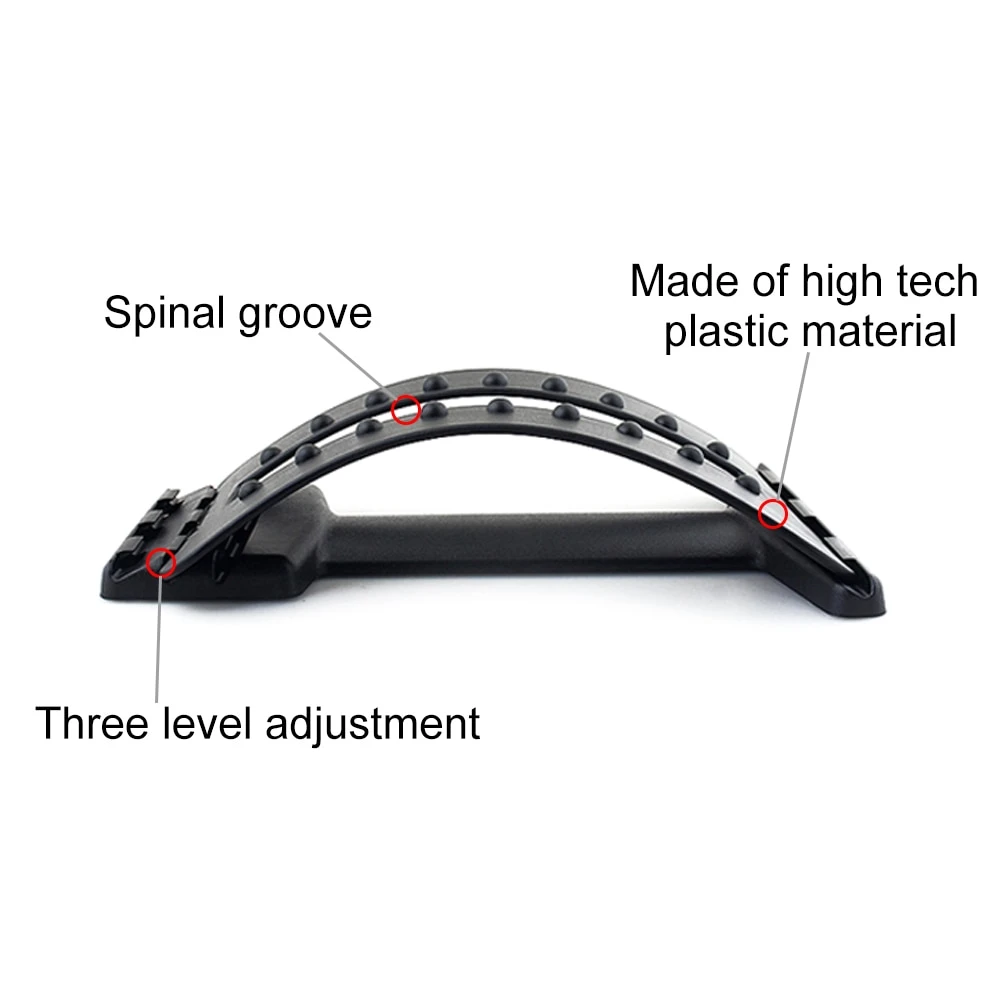 BackPro™ Lumbar Back Stretcher & Massager