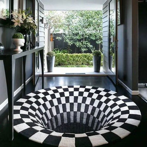 The Vortex™ | Premium Illusion 3D House Mat