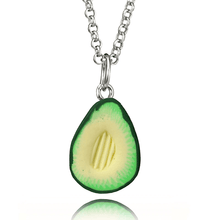 Load image into Gallery viewer, Handmade Avocado Necklace
