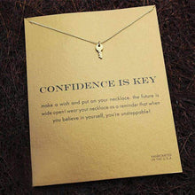 Load image into Gallery viewer, Handmade Confidence Is Key Necklace