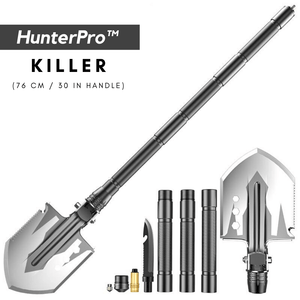HunterPro™ 23-in-1 Military Tactical Survival Shovel