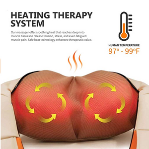 MyMassage™ Heated Shiatsu Neck & Shoulder Massager