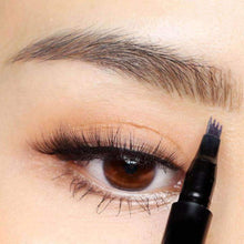 Load image into Gallery viewer, 4-Tip Microblading Eyebrow Pen (Waterproof & Smudgeproof!)