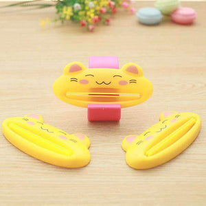 Cute Animal Face Toothpaste Squeezer