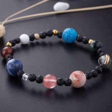 Load image into Gallery viewer, MyCosmos™️ Solar System Bracelet With PLUTO!