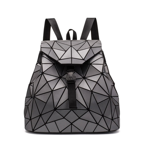 LightMeUp™ Laser Luminous Geometric Backpack