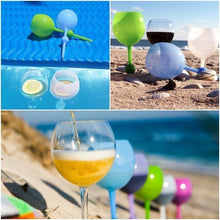 Load image into Gallery viewer, Float&Stick™ Beach & Pool Wine Glass