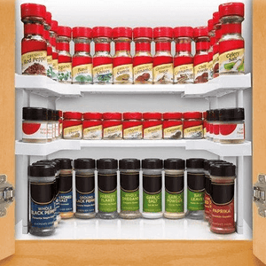 RackStar™ Smart Adjustable Cabinet Organizer