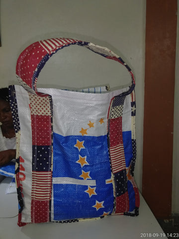Individual Shopping Bag made of recycled materials