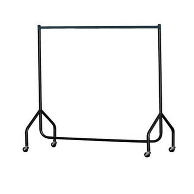 Black Heavy Duty Clothes Rail