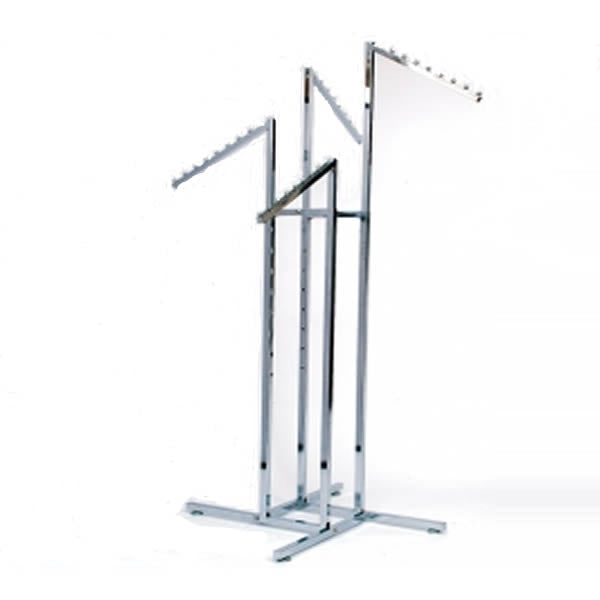 Four Way Waterfall Arm Garment Rail