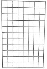 Gridwall Panel 3 Inch squares 4 Ft