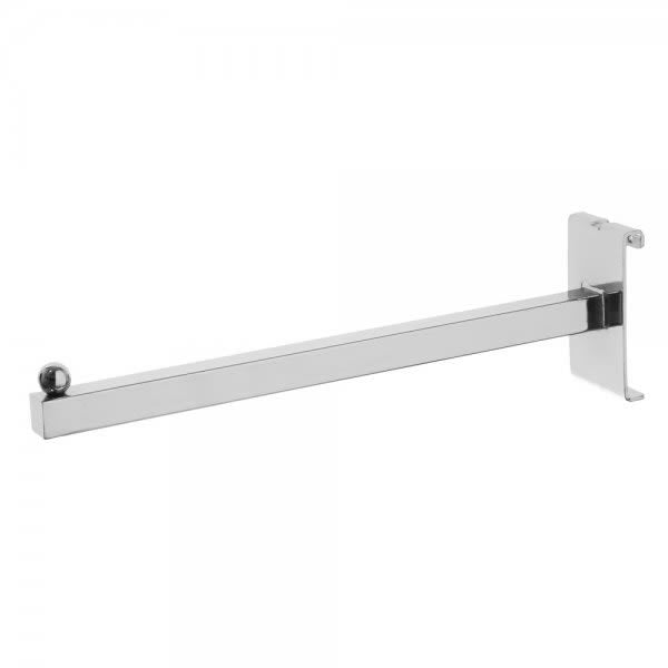 Chrome Straight Arm For Gridwall Panels