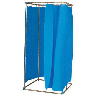 Free Standing Changing Room Cubicle  With Curtains