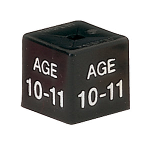 Children's Size Cubes in Age