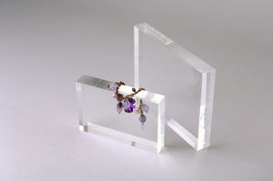 Solid Clear Acrylic Display Slab