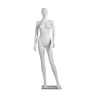 Female White Plastic Mannequin
