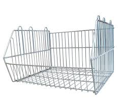 Zinc Stacking Basket