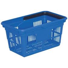 Plastic Self Serve Shopping Basket