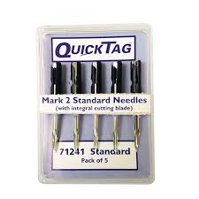 QuickTag Accessories MK2/3 Dennison Style Needles - Box of 5