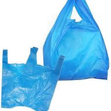 Load image into Gallery viewer, Box of Blue Recycled Vest Carrier  NEW LOWER PRICE £18.00