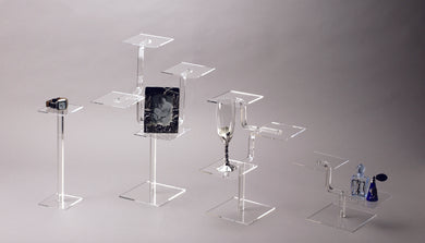 Acrylic Square Shelf Stand
