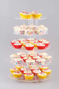 Five Tier Acrylic Cake Stand