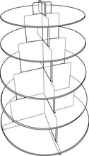 Load image into Gallery viewer, Five Tier Acrylic Cake Stand
