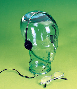 Clear Unisex Glass Head