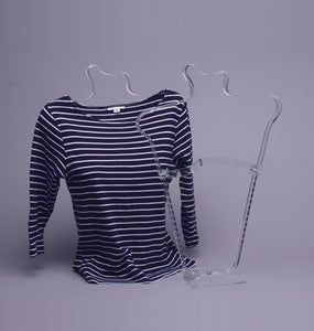 Clear Blouse Display Stand