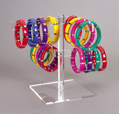 Acrylic Multiple Bangle or Bracelet Display Stand